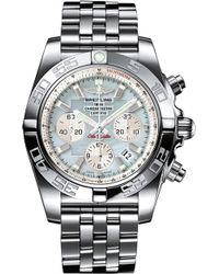 Breitling - Ab011053|g686|375a Chronomat 44 Stainless Steel Watch - Lyst