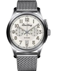 Breitling - Ab141112|g799|154a Transocean Stainless Steel Watch - Lyst