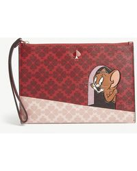 Kate Spade X Tom & Jerry Pouch - Red
