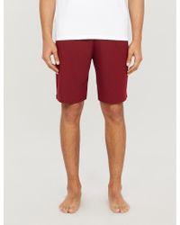 Derek Rose Basel Jersey Shorts - Red