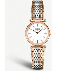 Longines L42091927 La Grande Classique Stainless Steel Watch - Black
