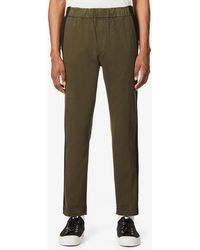 J Brand Spadium Tapered Cotton-blend Trousers - Multicolour