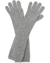 Johnstons - Long Cashmere Gloves - Lyst