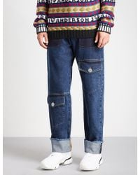 JW Anderson - Multi-pocket Wide-fit Straight Jeans - Lyst