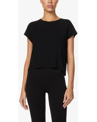 Vaara Nadia Relaxed-fit Stretch-jersey T-shirt - Black