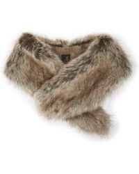 Helen Moore - Ladies Brown High Quality Vintage Faux-fur Collar - Lyst