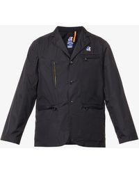 K-Way K-way X Engineered Garments Blase 3.0 Storm-flap Shell Blazer - Black