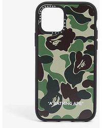 A Bathing Ape Casetify X Bape Abc Camo-printed Iphone 11 Pro Case - Green