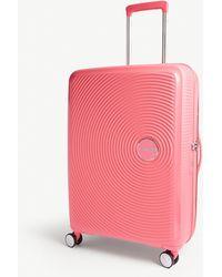 American Tourister Soundbox Expandable Four-wheel Suitcase 67cm - Pink
