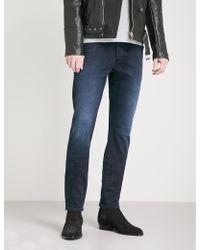 Neuw Iggy Faded Skinny Jeans - Blue