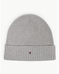 Tommy Hilfiger - Pima Cotton And Cashmere Beanie - Lyst