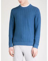 Michael Kors - Textured Knitted Jumper - Lyst