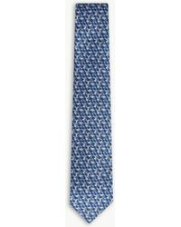 Ferragamo - Hopping Bunny Silk Tie - Lyst