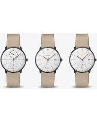 Junghans Max Bill Edition Watch Set Of Three - Grey