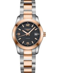 Longines L2.285.5.56.7 Conquest Watch - Metallic