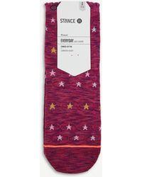 Stance - Morning Star Cotton-blend Crew Socks - Lyst