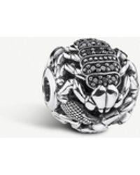 Thomas Sabo Scorpion Karma Silver Bead - Metallic