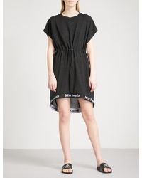 Palm Angels | Metallic Knitted Dress | Lyst