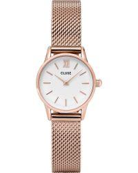 Cluse | Cl50006 La Vedette Rose-gold Watch | Lyst