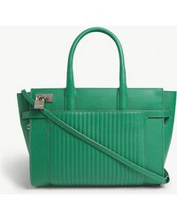 Zadig & Voltaire - Gazon Green Candide Leather Tote Bag - Lyst