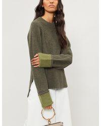 3.1 Phillip Lim - Raglan-sleeve Wool-blend Jumper - Lyst