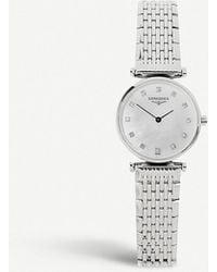 Longines L42094876 La Grande Classique Watch, Women's, Steel - Metallic