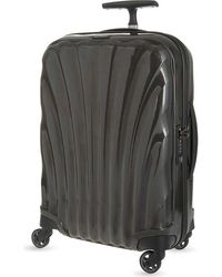 Samsonite Black Cosmolite Four-wheel Cabin Suitcase