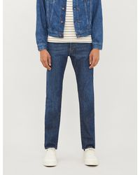 Ted Baker Tweete Tapered-fit Jeans - Blue
