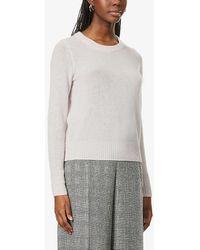 360cashmere Xena Round-neck Cashmere Sweater - Gray