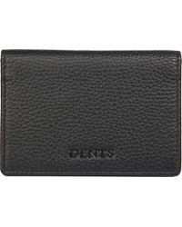 Dents - Rfid Protection Leather Card Holder - Lyst