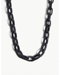 Max Mara - Resin Link Necklace - Lyst