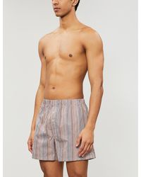 Joe Boxer Mens ZipItUp Embroidered Loose Boxer Boxers