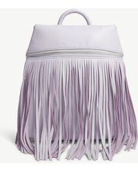 Skinnydip London - Purple Tasselled Faux Leather Backpack - Lyst