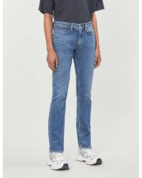 Acne Studios Max Faded Slim Jeans - Blue