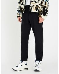 KENZO - Tiger-embroidered Jersey jogging Bottoms - Lyst