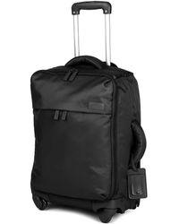 Lipault Original Plume Four-wheel Cabin Suitcase 55cm - Black