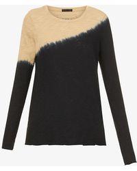 ATM - Tie Dye-print Cotton-knit T-shirt - Lyst