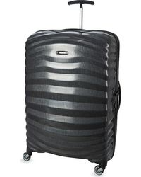 Samsonite Lite-shock Four-wheel Suitcase 75cm - Black