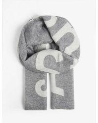 Acne Studios Toronty Wool-blend Scarf - Gray
