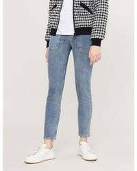 Claudie Pierlot - Pool Utility-pocket High-rise Skinny Jeans - Lyst