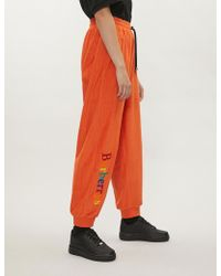 Burberry - S Cotton-towelling Jogging Bottoms - Lyst