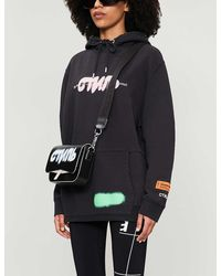 Heron Preston Logo-print Cotton-jersey Hoody - Black