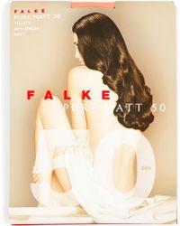 Falke - Pure Matt 50 Tights - Lyst