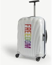 Samsonite Freedom Cosmolite Four-wheel Cabin Suitcase 55cm - Multicolour
