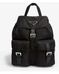 Prada Nylon Small Backpack - Black