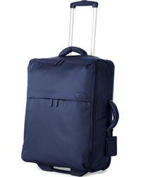 Lipault Foldable Two-wheel Suitcase 65cm - Blue