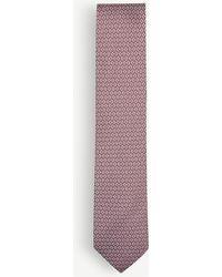 Thomas Pink | Lisbet Geometric Silk Tie | Lyst