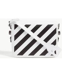 6291c0988437 Off-White c o Virgil Abloh Diagonal Stripe Leather Camera And Belt ...