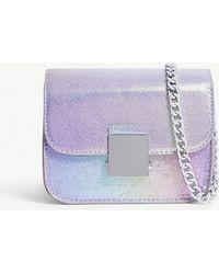 Skinnydip London - Purple Lolita Nova Faux Leather Cross Body Bag - Lyst