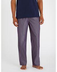 Polo Ralph Lauren - Checked Cotton Pyjama Bottoms - Lyst